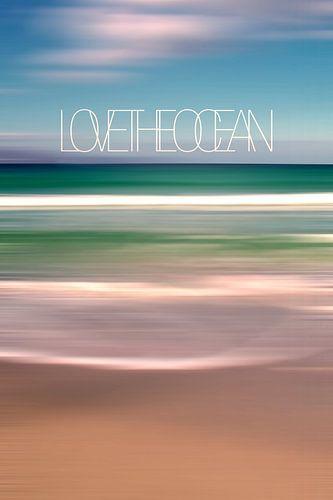 LOVE THE OCEAN Ia van