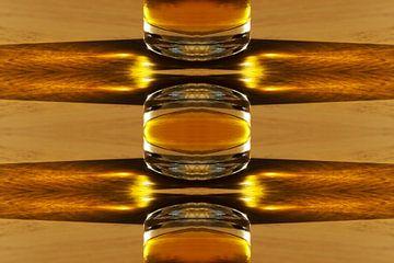 Geel glas von Corina Scheepers-de Mooij