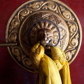 Buddistic Temple Door von Stephan Spelde