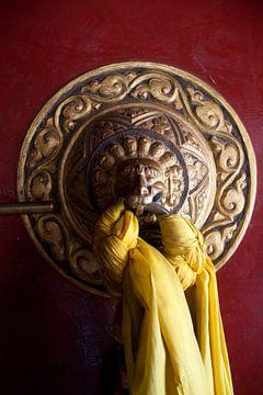 Boeddistische Tempeldeur