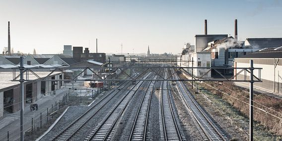 Spoorweg MOSA / Maastricht van Robert Lambrix