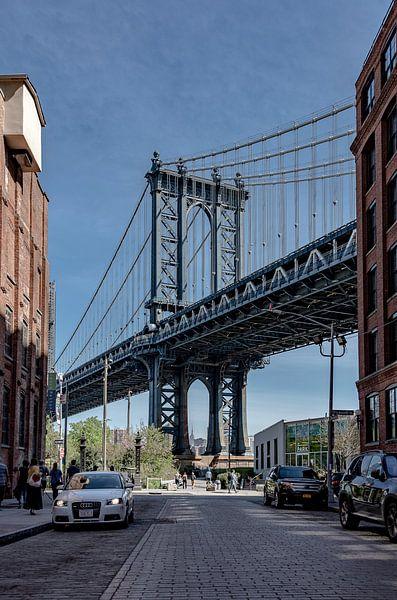 NY Manhattan Bridge van Jeanette van Starkenburg
