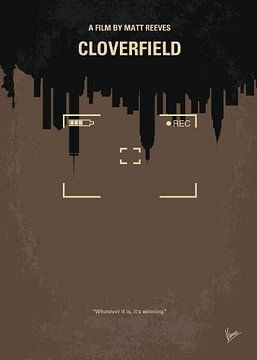No203 My Cloverfield minimal movie poster van Chungkong Art