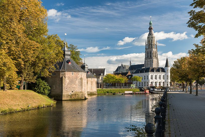 Ombres d'automne chez Breda Spanjaardsgat sur JPWFoto