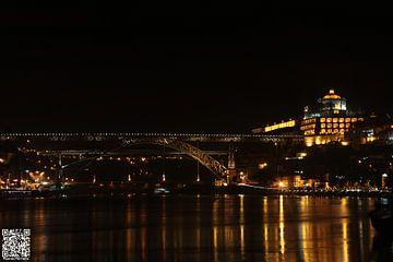 Gaia City - Dom Luis Bridge - Serra do Pilar 2* van Ricardo Ferreira