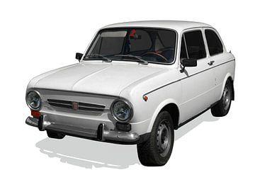 Fiat 850 Speciaal van aRi F. Huber