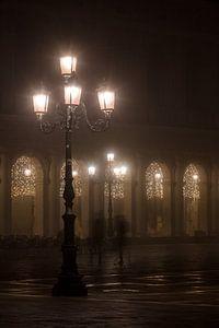 Markusplatz im Nebel
