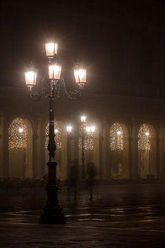 Markusplatz im Nebel von Andreas Müller