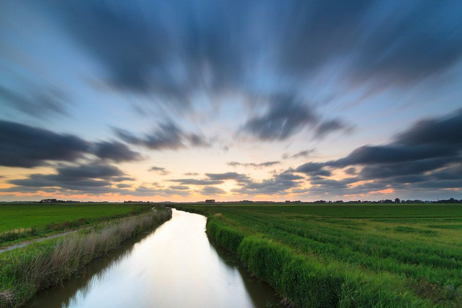Droomlandschap in Groningen van Ron Buist