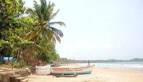 Strand in Indien van