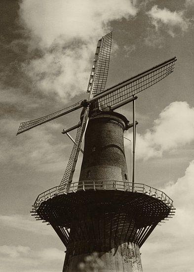 Korenmolen De Noord Rotterdam van Rob van der Teen