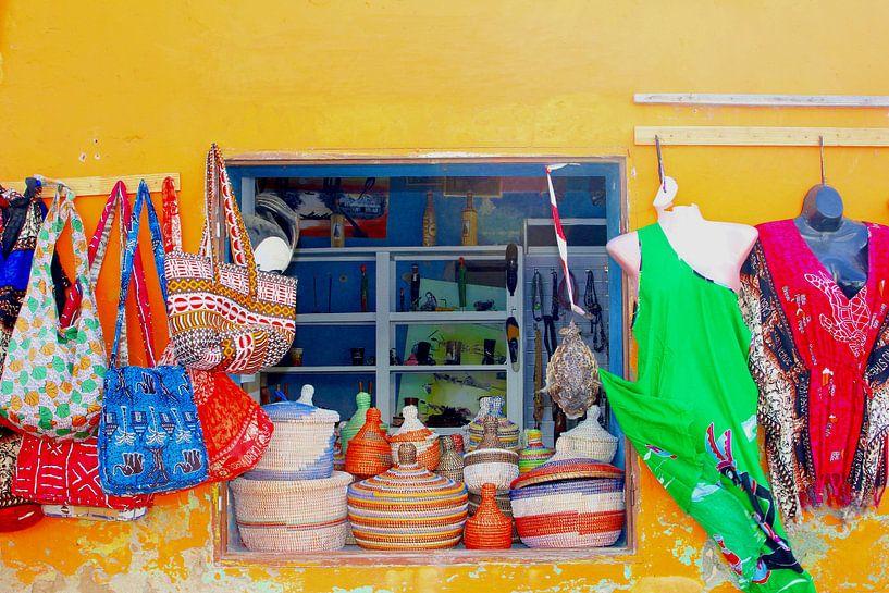 Kleurrijke Afrikaanse winkel van Inge Hogenbijl