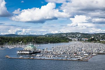 Blick auf Oslo von Rico Ködder