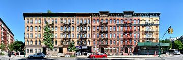 Harlem Fire Escapes von Panorama Streetline