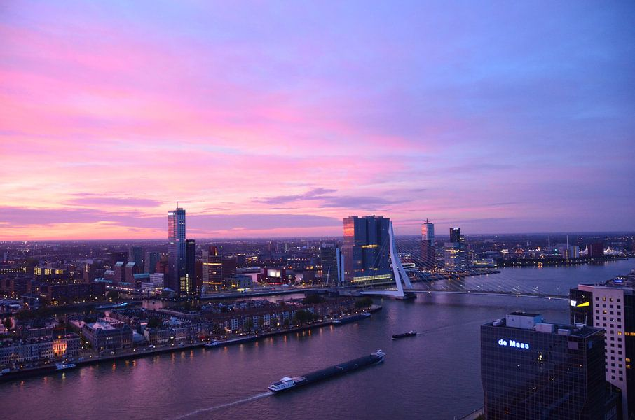 Rotterdam in de vroege ochtend