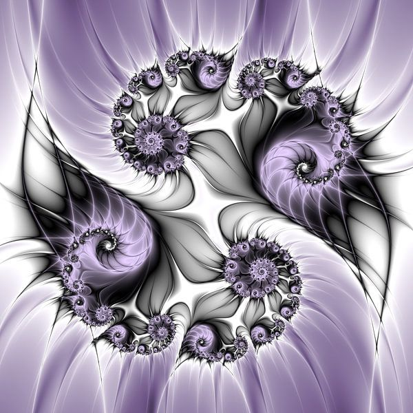 Purple Illusion von gabiw Art