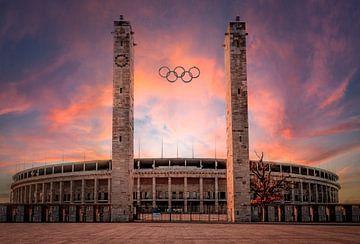Olympiastadion Berlin von Mario Calma