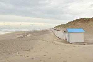 Strandhuisjes op Texel van Denise van Gerven