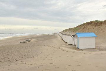 Strandhäuser auf Texel von Denise van Gerven