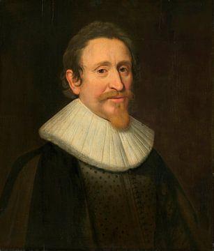 Porträt von Hugo Grotius, Jurist, Michiel Jansz van Mierevelt