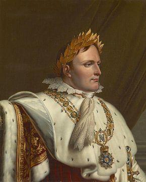 Porträt von Napoléon in seinen Krönungskleidern, Anne-Louis Girodet-Trioson