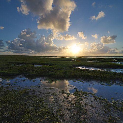 Dutch Sunset van Martijn Schornagel