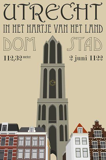 Domtoren Utrecht van Yuri Koole