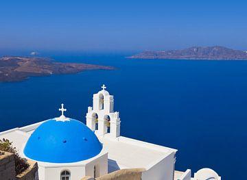 Santorini, Griekenland van Henny Hagenaars