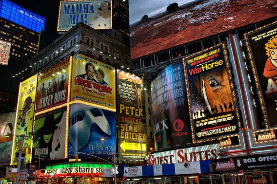 Times Square  van Tineke Visscher