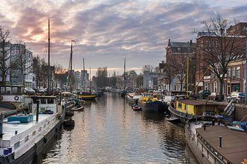 Zicht op de Noorderhaven_Groningen_2016 van Ronnie Schuringa