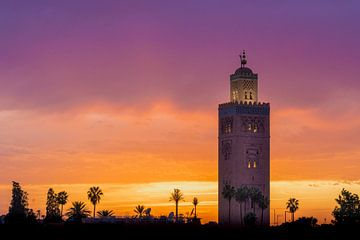 Koutoubia Moskee in Marrakech van Eline Chiara