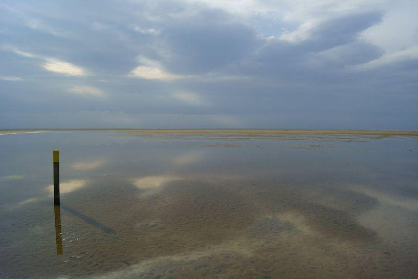 Strand bij Ouddorp van Michel van Kooten