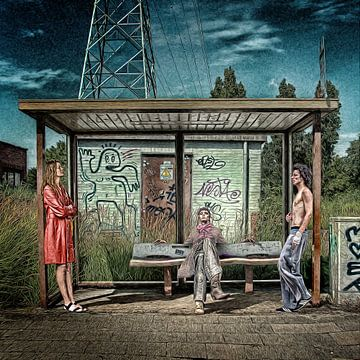 Busstop von Juliën van de Hoef