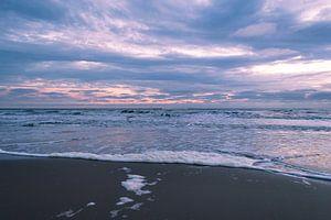 Zonsondergang - Noordwijk strand van