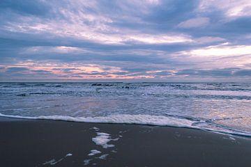 Sunset - Noordwijk beach von Richard Steenvoorden
