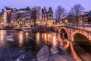 Ijzig Keizersgracht Amsterdam van