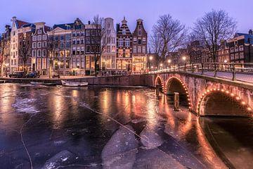 Ijzig Keizersgracht Amsterdam sur Dennisart Fotografie