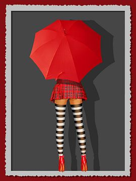 Pin-Up Girl und die schottische Sparsamkeit von Monika Jüngling