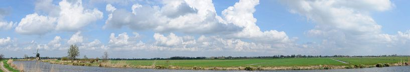 Spengense molen, Kockengen, Utrecht van Martin Stevens