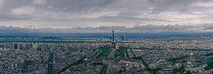 Panorama over Parijs