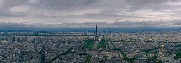 Panorama over Parijs van Toon van den Einde