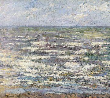Das Meer in der Nähe von Katwijk - Jan Toorop 1887