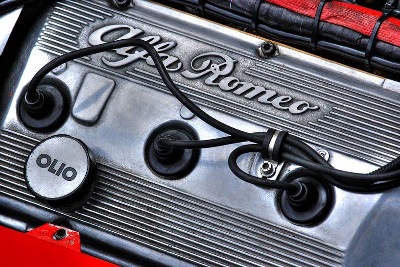 Alfa Romeo Retro Power van MSP Canvas