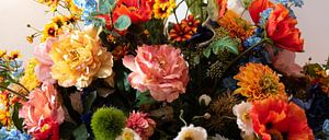Bos bloemen van Anita Visschers