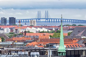 Dächer von Kopenhagen von hugo veldmeijer