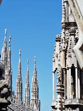 Piazza del Duomo Milaan van Gaby  van der Peijl