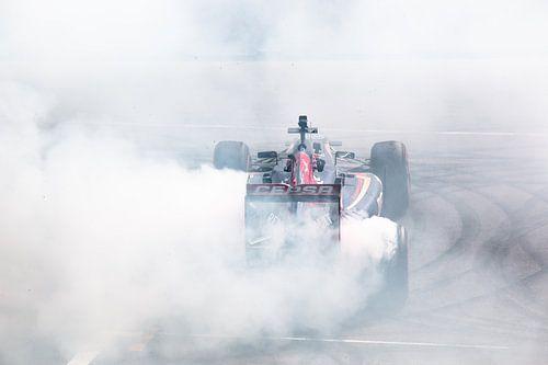 Max Verstappen burnout van Marcel Keurhorst