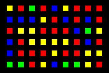 Nested | Center | 09x06 | N=01 | Random #02 | RGBY van Gerhard Haberern