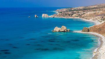 Die südliche Küstenlinie Zyperns