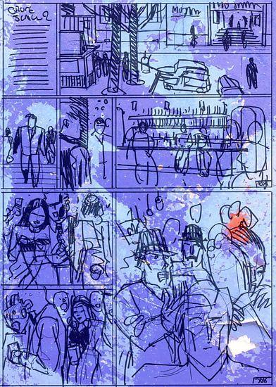 Strip Splinter Goes Urban (Schets p26)
